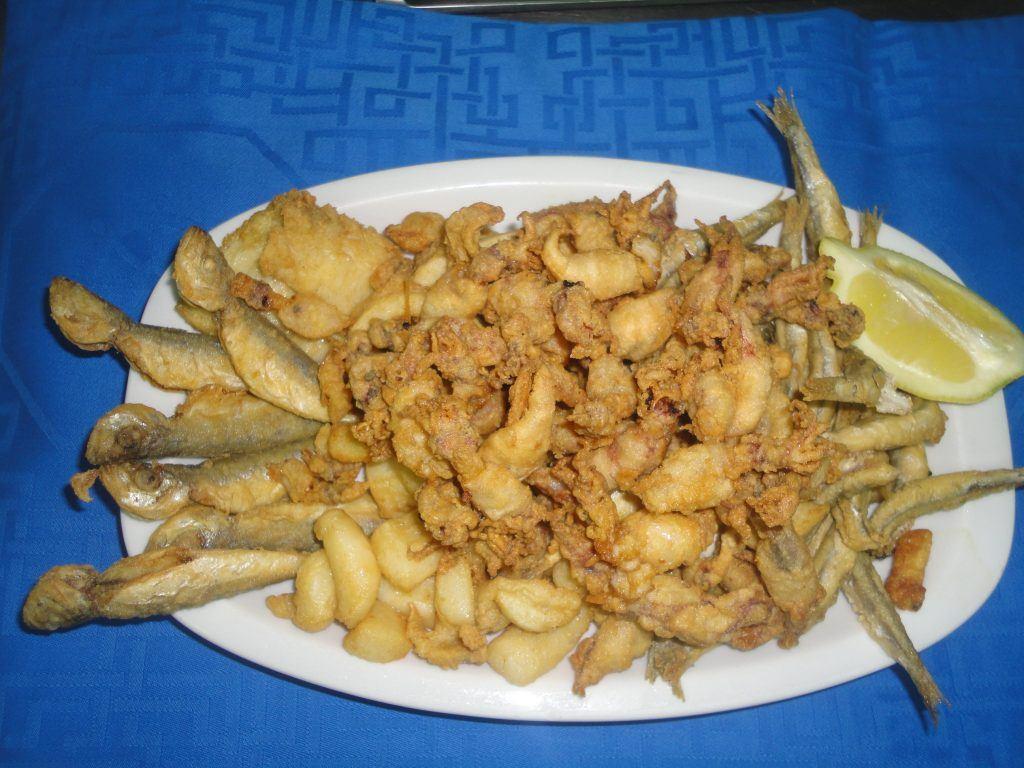 Pescaito frito en Torremolinos