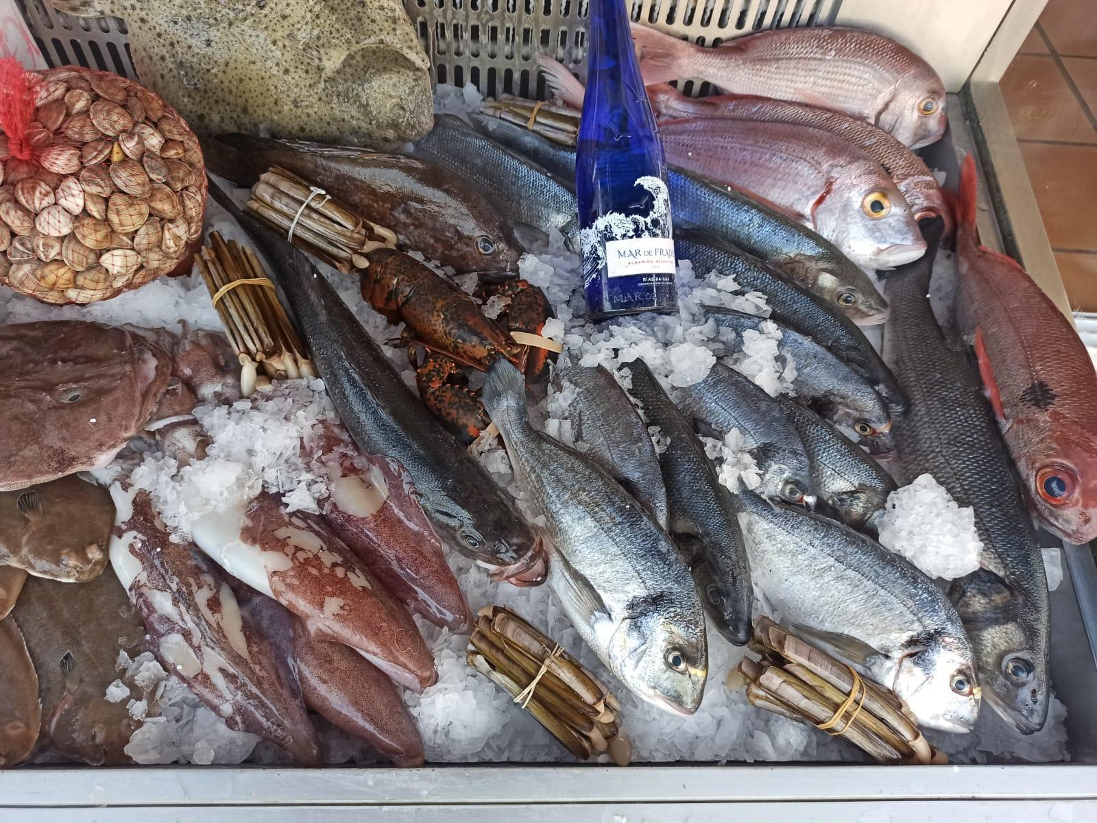 Restaurante de pescados en Torremolinos