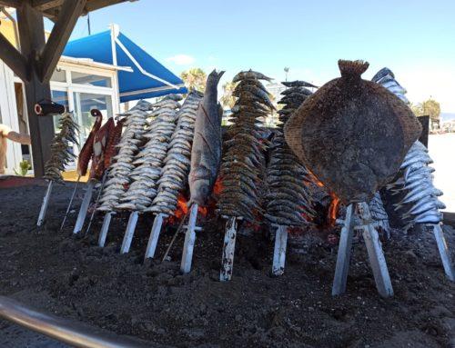 Especialista en pescado espetado en Torremolinos